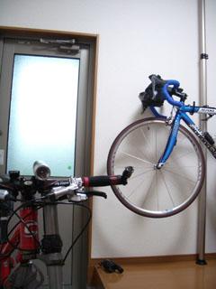 自転車の部屋